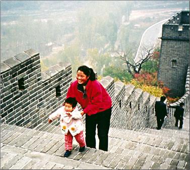 China-Great-Wall-Child
