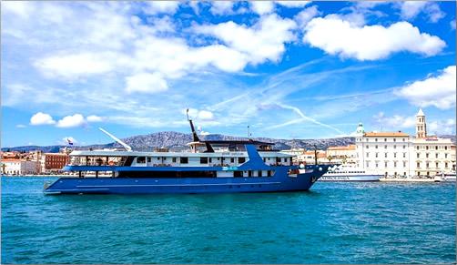 Croatia-Split-Harbor-Katarina-Line