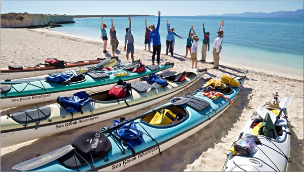 Baja-Mexico-Kayak-Warmup-and-Stretch