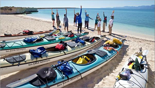 Baja-Mexico-Kayak-Warmup-and-Stretch