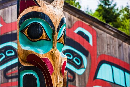 Ketchikan-Alaska-Totem Poles