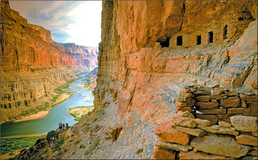 Grand-Canyon-Anasazi-Granaries