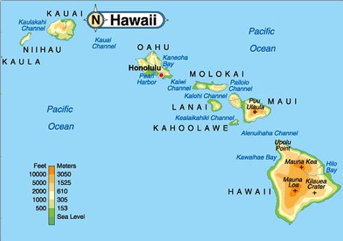 Map-of-Hawaiian-Islands