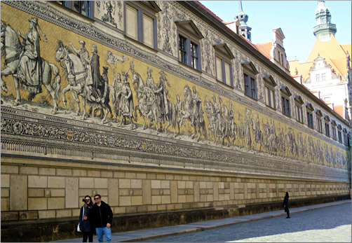 Dresden-Furstenzug-Porcelain-Mural