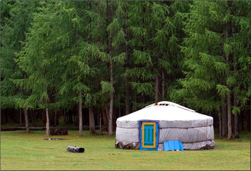 Nomad-Yurt-Mongolia